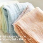中川政七商店の蚊帳ふきん