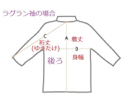 ラグラン袖